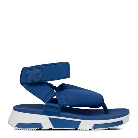 FitFlop Galaxy Blue Elsa Padded Back-Strap Sandals
