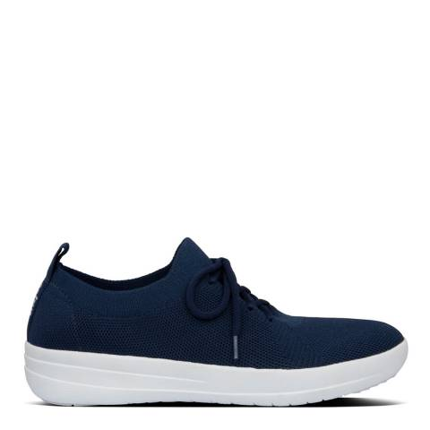FitFlop Midnight Navy F-Sporty Uberknit Sneakers