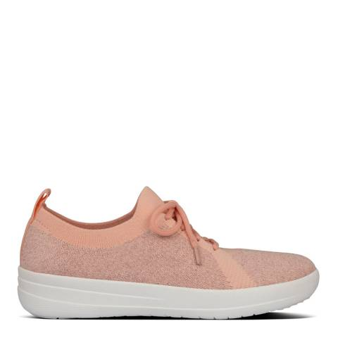 FitFlop Coral Pink F-Sporty Uberknit Sneakers