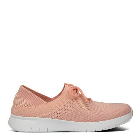 FitFlop Coral Pink Mix Marbleknit Sneakers
