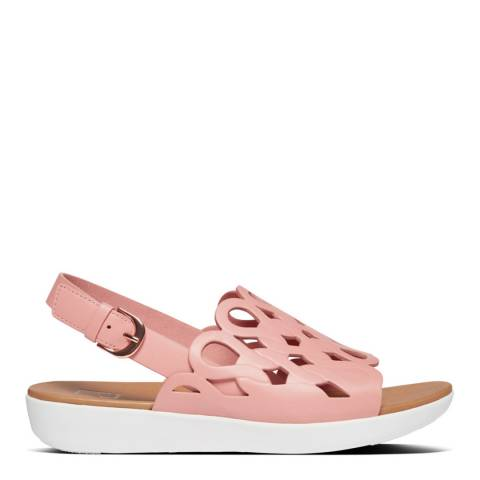 FitFlop Rose Pink Elodie Entwined Back-Strap Sandals