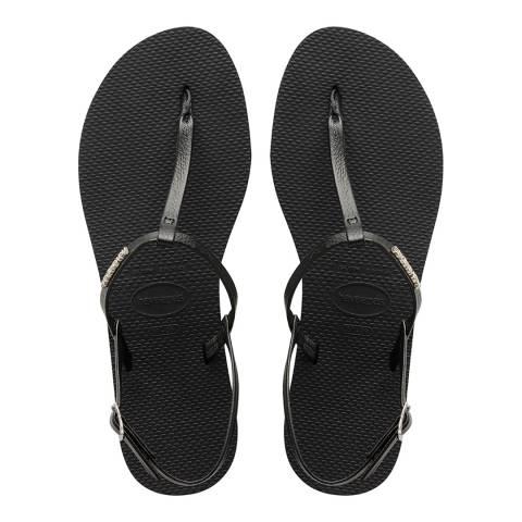Havaianas Black You Riviera Sandals
