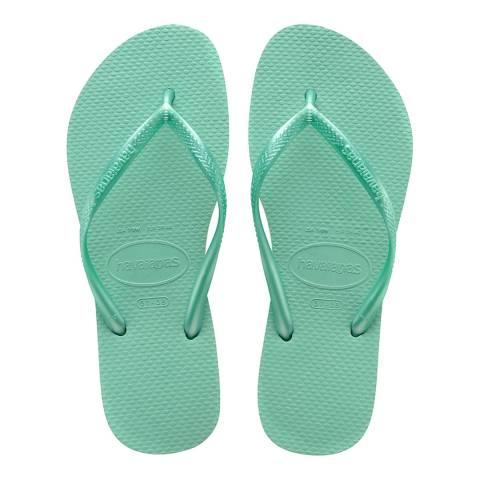 Havaianas Green Dew Slim Flip Flops