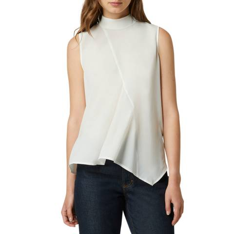 French Connection White Light Sleeveless Top
