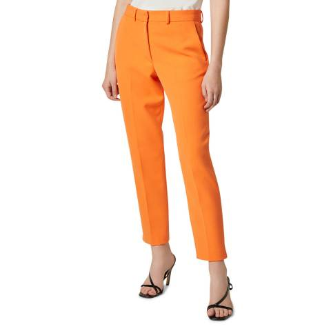 French Connection Orange Tailored Suit Trousers