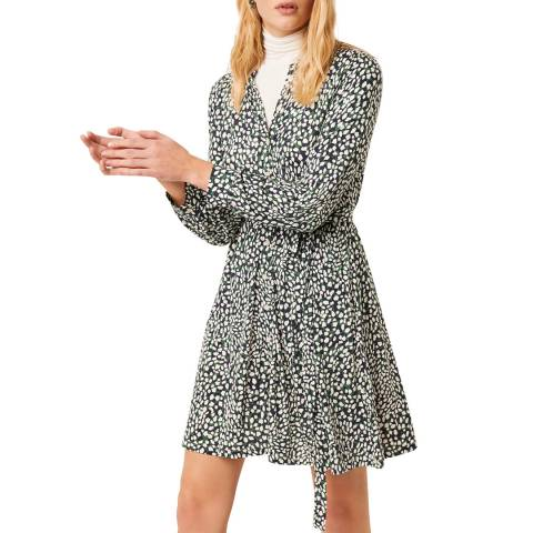French Connection Green Meadow Jersey Dress