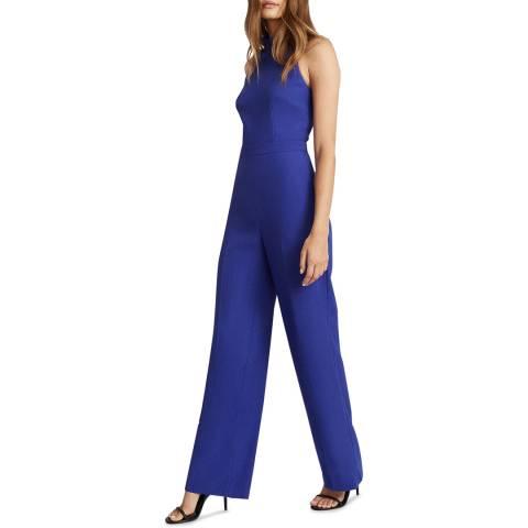 Reiss Blue Dory Jumpsuit