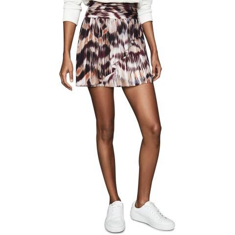 Reiss Multi Print Josephine Skirt