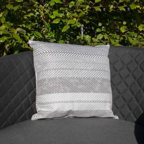 Maze Rattan Set of 2 Bora Bora Grey Scatter Cushion