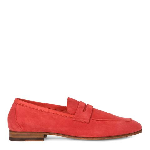 PAUL SMITH WOMENS SHOE GLYNN CORAL RED