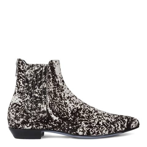 PAUL SMITH Multi Nicks Calf Chelsea Boots