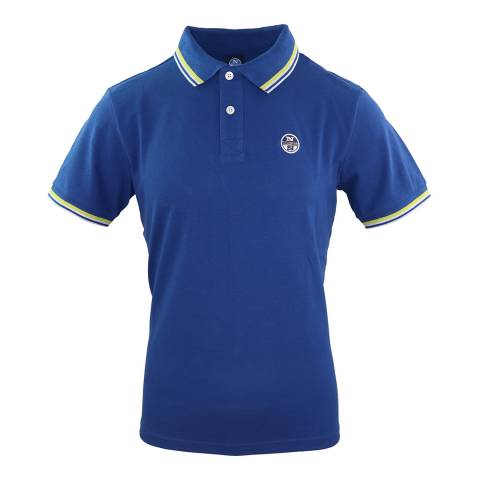 NORTH SAILS Blue Classic Polo Shirt