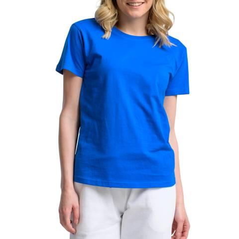 NORTH SAILS Blue Crew Neck Cotton T-Shirt