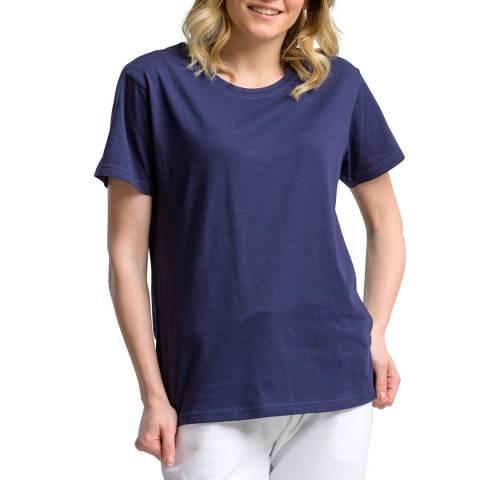 NORTH SAILS Navy Crew Neck Cotton T-Shirt
