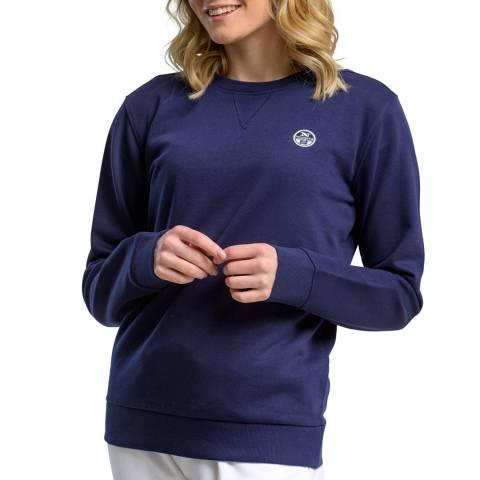 NORTH SAILS Navy Logo Cotton Sweatshirt