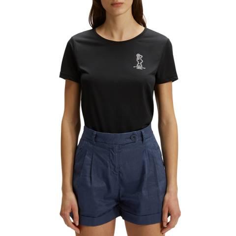 AC36 BY PRADA Black Prada Cup Logo T-Shirt