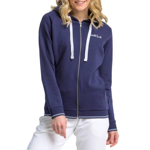 NORTH SAILS Navy Hooded Cotton Sweatshirt