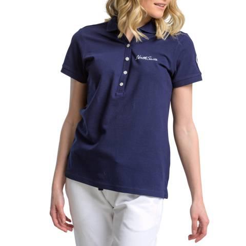 NORTH SAILS Navy Cotton Polo Shirt