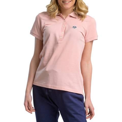 NORTH SAILS Pink Cotton Polo Shirt
