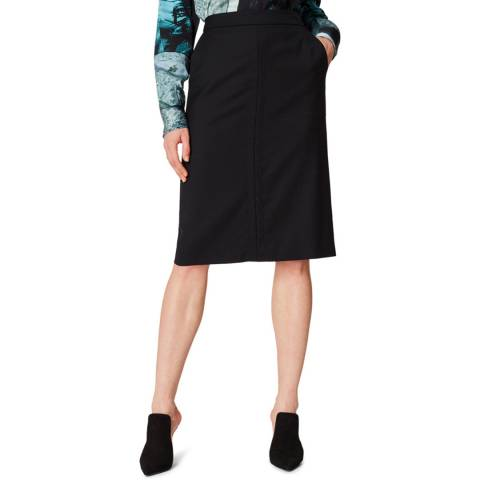 PAUL SMITH Black Mini Pencil Skirt