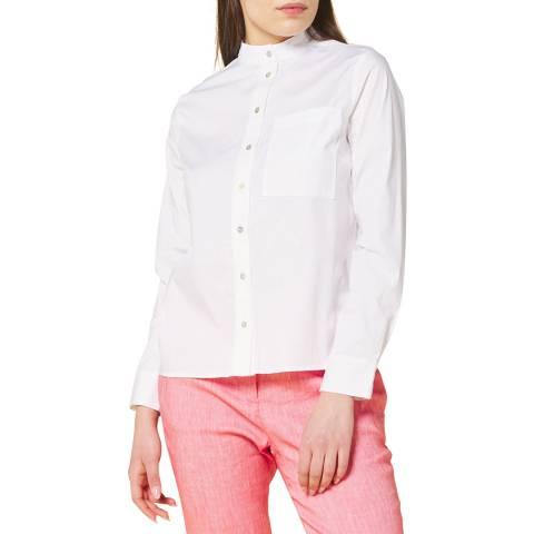 STEFANEL White Long Sleeved Shirt