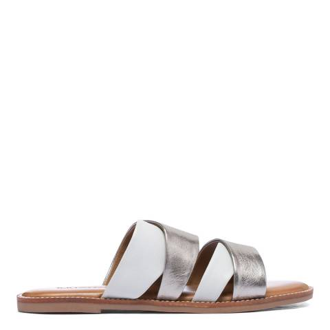 Inuovo Ice Leather Flat Sandals