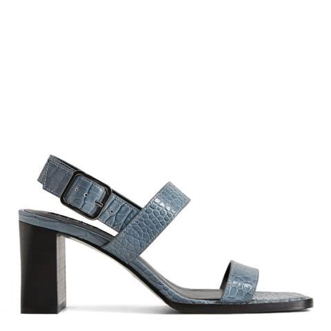 Mango Blue Teen Heeled Sandals