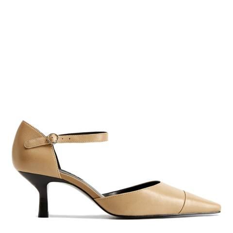 Mango Natural Ter Heeled Shoes