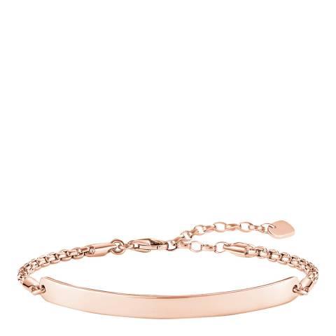 Thomas Sabo 18k Rose Gold Festival Bridge Bracelet