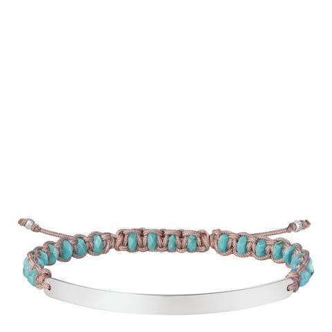 Thomas Sabo Blue Silver Bridge Bracelet
