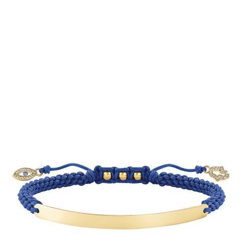 Thomas Sabo Blue Love Bridge Nazar′s Eye Bracelet
