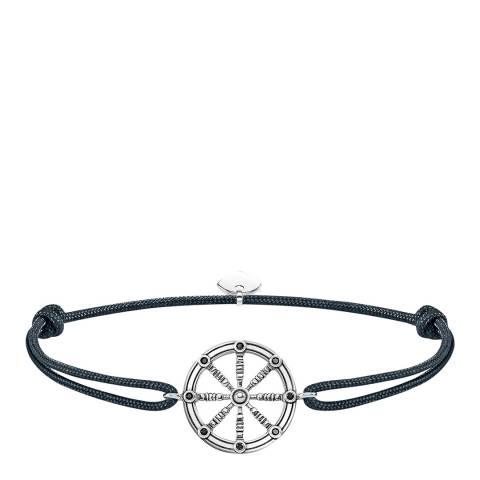Thomas Sabo Black Little Secrets Karma Wheel Bracelet