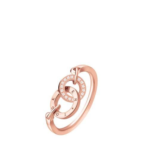 Thomas Sabo 18k Rose Gold Together Ring
