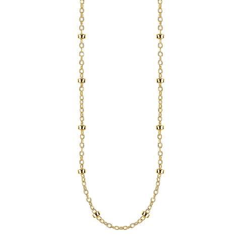 Thomas Sabo 18k Yellow Gold Round Belcher Chain Necklace