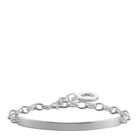 Thomas Sabo 925 Sterling Silver ID Carrier Charm Bracelet
