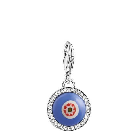 Thomas Sabo Blue Glass Eye Charm Club Pendant