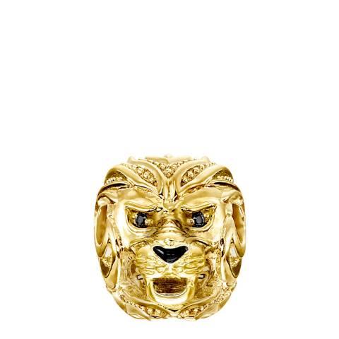 Thomas Sabo Gold Lion Karma Bead