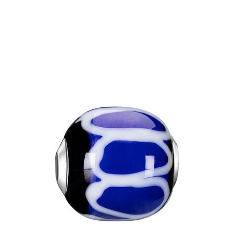 Thomas Sabo Blue Black Glass Karma Bead