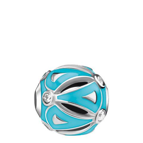 Thomas Sabo Silver Turquoise Ethno Karma Bead