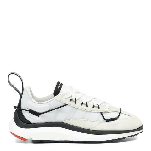 adidas Y-3 White/Black Shiku Run Sneakers