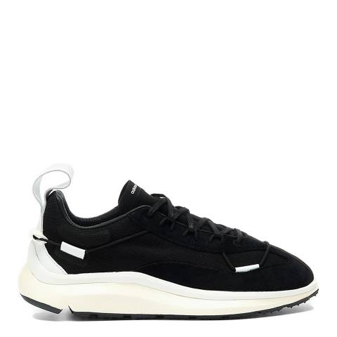 adidas Y-3 Black/White Shiku Run Sneakers