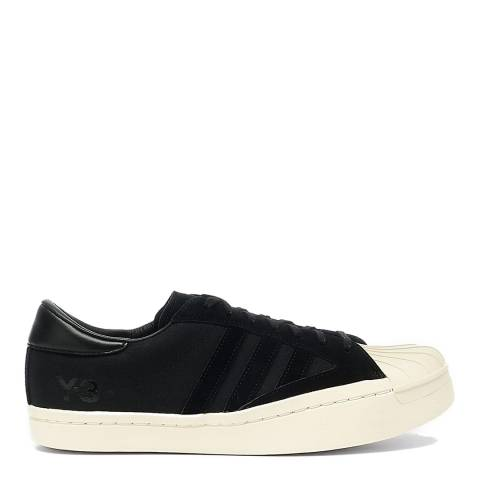 adidas Y-3 Black/White Yohji Star Sneakers