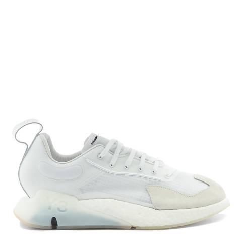 adidas Y-3 White Orisan Low-Top Sneakers