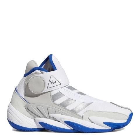 adidas x Pharrell Williams White Blue Pharrell Williams 0 To 60 Sneakers