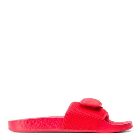 adidas x Pharrell Williams Red Pharrell Williams Boost Sliders