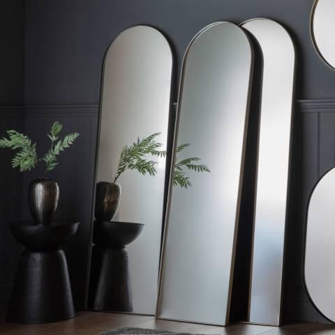 Gallery Silver Hurston Arch Mirror 50x170cm