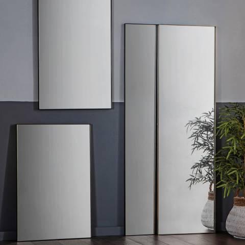 Gallery Silver Hurston Leaner Mirror 50x170cm