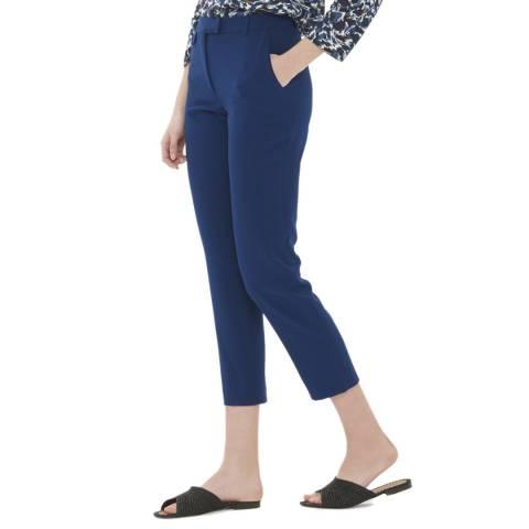 Gerard Darel Blue Cropped Trousers