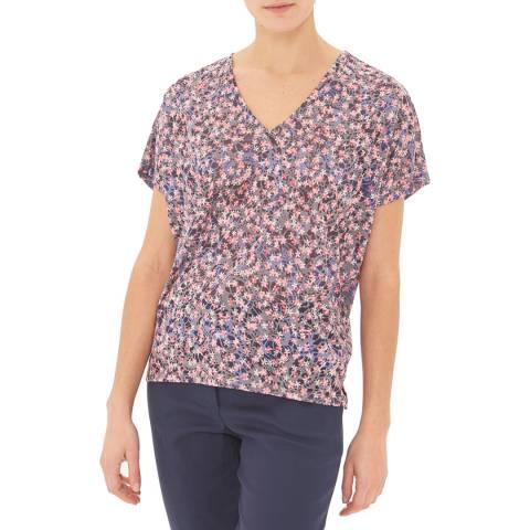 Gerard Darel Blue Floral T-Shirt