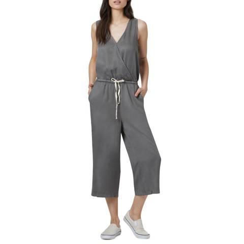 TENTREE Grey Blakely Sleeveless Jumpsuit